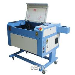 60W Mini Laser Cutter Engraver Engraving Cutting Machine USB Chiller 500x300mm