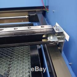 80W Laser Cutting Engraving Machine Ruida 4060 Laser Engraver Cutter Wood PVC