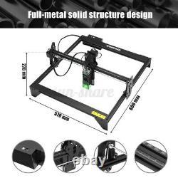 ATOMSTACK A5 20W CNC Laser Engraving Machine Wood Carving Cutting Desktop Tool