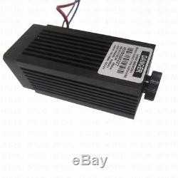 Analog/TTL 5.5W 5500mW 450nm blue laser module Focusable High Power Engrave cut