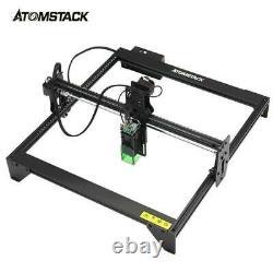Atomstack A5 20w Diy Laser Cutting Printer Engraving Engraver Machine Desktop Us