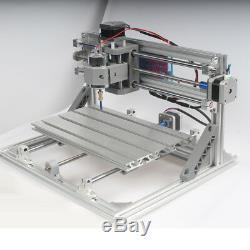 CNC 3018 Engraving Router Carving Milling Cutting DIY Machine&5.5W Laser Module