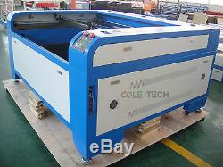 CNCOLETECH 100W CO2 Laser Engraving Cutting 1612 Machine