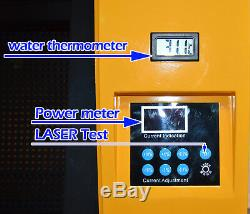 CO2 50W Laser Engraving Cutting Machine Linear Guide Engraving Machine 4030 110V