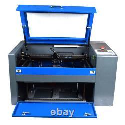 CO2 DSP Laser Cutter 5030 50W USB High-Precision Engraving Cutting Machine US