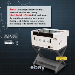 CO2 Laser Engraver Cutter 40W 12×16 Cutting Engraving Machine Upgraded Ruida