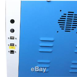 CO2 laser cutter 1060 100W laser cutting engraving machine & 80mm rotary EU Ship