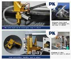 Co2 Laser Engraver USB Offline Control CO2 Engraving Cutting Machine 400400mm