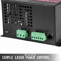 Co2 Laser Tube + Laser Power Supply 80W for Laser Engraving cutting machine