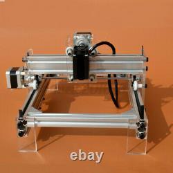 DC 12V 500MW DIY Mini Laser Engraving Cutting Machine Desktop Printer Kit