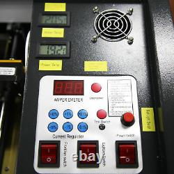 DIY 40W CO2 Desktop LASER ENGRAVING & CUTTING MACHINE Machine 12''x8'