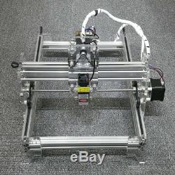 DIY DesktopWood Laser Engraving Etcher Machine 500mW Mark Logo Print Cut 3040CM