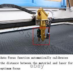 DSP 100W 1060 Co2 Cutting Laser Machine USB Auto-Focus Engraver Machine&Chiller