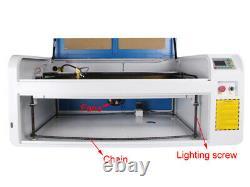 DSP CO2 Laser Engraving Cutting Machine Laser Cutter&Ruida System&5000W Chiller