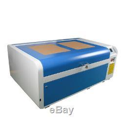 DSP1060 100W CO2 Laser Cutting Machine Auto-Focus CW-5000 Chiller RECI Tube RD