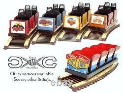 Detailed model of The Voyage Roller Coaster Train & Track Laser Engraved & Cut