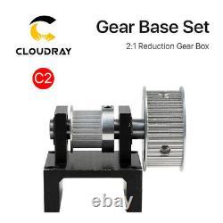 Gear Base Set Machine Mechanical Parts for Laser Engraving Cutting Machine