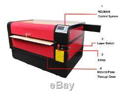 HL 1060X RECI 130W Co2 Laser Engraving Cutting Machine Cutter Ruida 6445 System
