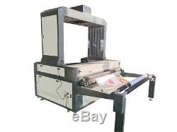 HQ1810 Vision Laser Cutting Machine/Fabric Garment Flag Logo Cutter CCD Camera