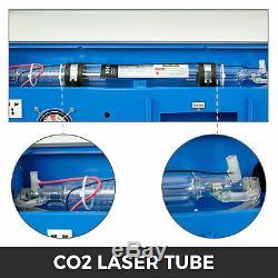 High Precise 40W CO2 USB Laser Engraving Cutting Machine Engraver 128 Cutter