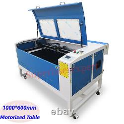 Hot! 80W RUIDA Co2 Laser Cutting&Engraving Machine 1000600mm With Motorized