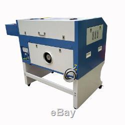 Laser Engraving 600400mm 80W CO2 Engraver Cutting Machine DIY Cutter Marking