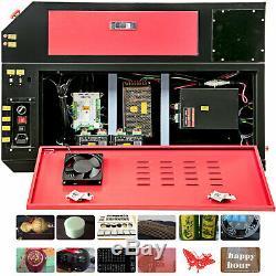 Laser Engraving Cutting Machine Pro USB 60W Co2 Laser Engraver Cutter 700x500mm