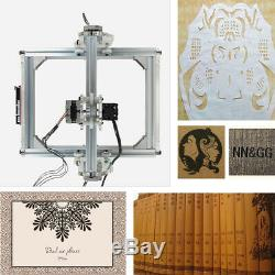 Laser Engraving Machine Diy Kit Carving Cutting 3000mW Desktop Printer Wood Tool