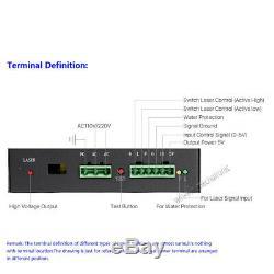 MCWlaser MYJG 50W CO2 Laser Power Supply For Engraver Cutting 110V/220V