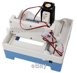 Mini 2000mW Laser Engraving Machine DIY USB Cutting Logo Picture Marking Printer