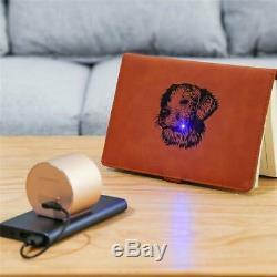 Mini Laser Engraving Cutting Machine Engraver DIY Logo Mark Printer Desktop APP