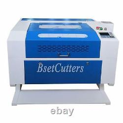 Motor Z 80W Co2 Laser Engraving and Cutting Machine 700mm 500mm With CE FDA
