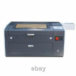 Motorized Desktop 50W Co2 Laser Engraving and Cutting Machine 500mm x 300mm