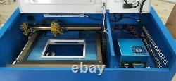 New 40W CO2 Laser Engraving Cutting Machine Engraver cutter WithBlow air head 3020