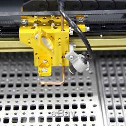 New! USB 40W CO2 LASER ENGRAVING & CUTTING MACHINE Rail Drive Machine 12''x8'