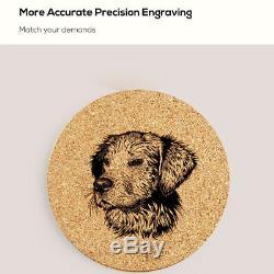 Portable 1.6w Laser Engraving Cutting Machine DIY Logo Picture Printer Engraver