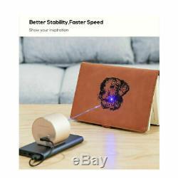 Portable Desktop Laser Engraver Machine DIY Logo Picture Print Engraving Cutting