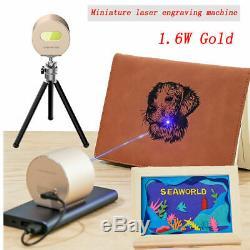 Portable Laser Engraver Machine DIY Logo Picture Print Engraving Cutting+Tripod