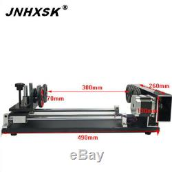 Quality Rotary Axis for laser engraving cutting machine portable desktop
