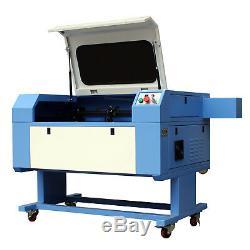 RECI 100W CO2 700500mm USB Laser Engraving Cutting Machine High Precise
