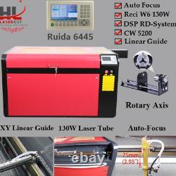 RECI 130W-150W Co2 Laser Engraving Cutting Machine CW5200 Chiller 960x600mm 6445