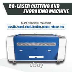RECI 130W W4 CO2 Laser Engraver Cutting Machine 1300X900mm Motorized Z Rotary