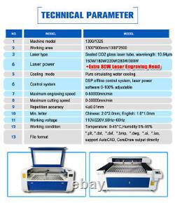 RECI 180W W8+80W W1 Mixed Laser Cutting Engraving Machine Laser Cutter Engraver