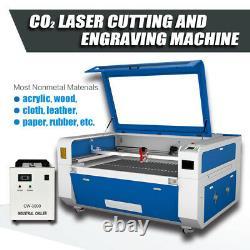 RECI CO2 Laser Engraver Cutter 100W 52 × 36 Cutting Engraving Machine RUIDA