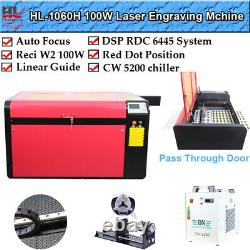 RECI W6 130W Co2 Laser Cutting and Engraving Machine 1000mm x 600mm With Red-dot