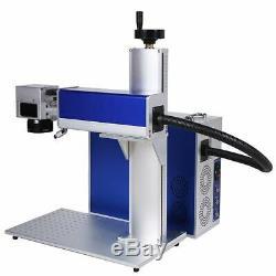 Raycus 100W Fiber Laser Marking Machine USB metal cut, Aluminum mark deep cut PC