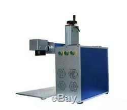 Raycus 50W Fiber Laser Marking Machine USB metal cut, Aluminum mark deep cut PC