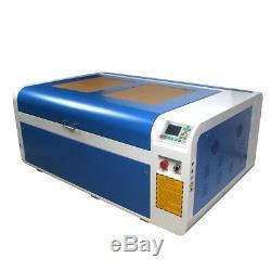 Ruida DSP 100W 1060 CO2 Laser Engraver Cutting Machine & Reci Tube Rotary Axis