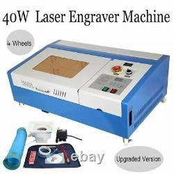 SALE! 40W CO2 USB laser Engraving Cutting Machine Engraver Cutter 220V/110V