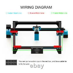 TOTEM S 40W Laser Engraver Cutter Engraving Cutting Machine DIY Laser Printer